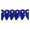 Glass Bead 19x9mm Cobalt Blue Loose